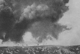 Атака французов на германские позиции