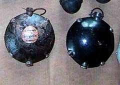 Ручная дисковая граната обр. 1915 г. (Diskushandgranate 15)